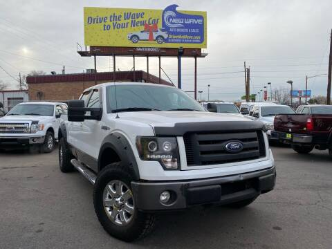 2010 Ford F-150 for sale at New Wave Auto Brokers & Sales in Denver CO