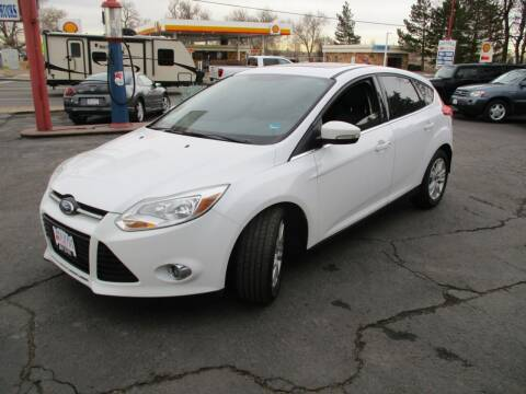 2012 Ford Focus for sale at Premier Auto in Wheat Ridge CO