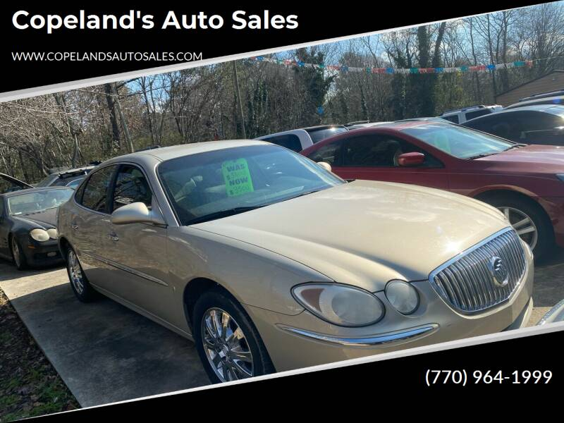 2008 Buick LaCrosse for sale at Copeland's Auto Sales in Union City GA
