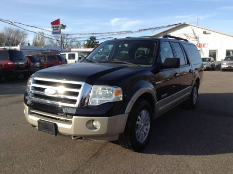 2008 Ford Expedition EL for sale at Steves Auto Sales in Cambridge MN