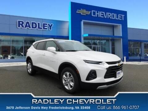 2020 Chevrolet Blazer for sale at Radley Cadillac in Fredericksburg VA