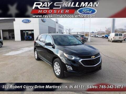 2019 Chevrolet Equinox for sale at Ray Skillman Hoosier Ford in Martinsville IN