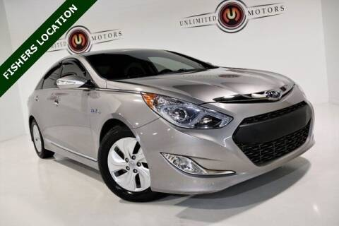 2013 Hyundai Sonata Hybrid for sale at Unlimited Motors in Fishers IN