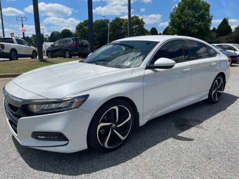 2018 Honda Accord for sale at Modern Automotive in Boiling Springs SC