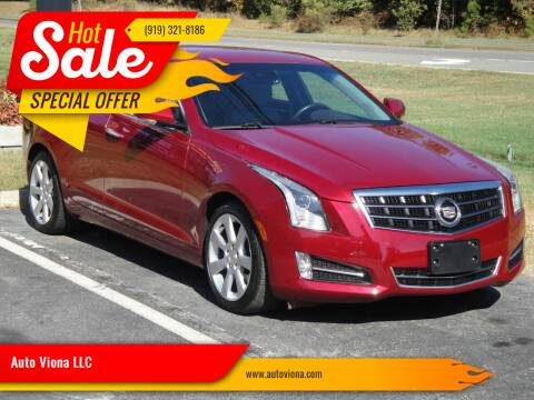 2013 Cadillac ATS for sale at Auto Viona LLC in Durham NC