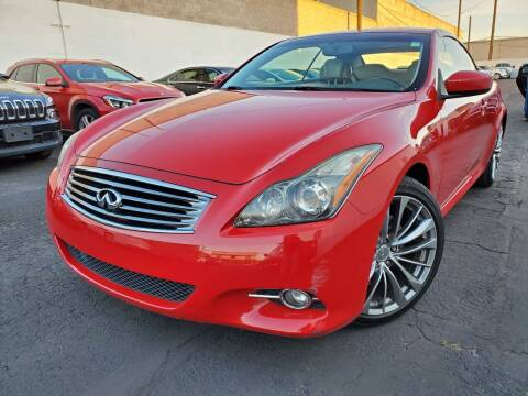 2011 Infiniti G37 Convertible for sale at Auto Center Of Las Vegas in Las Vegas NV