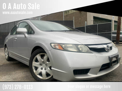 2011 Honda Civic for sale at O A Auto Sale in Paterson NJ