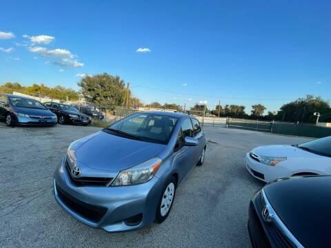 2013 Toyota Yaris for sale at Hatimi Auto LLC in Austin TX