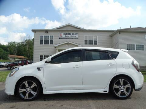 2009 Pontiac Vibe for sale at SOUTHERN SELECT AUTO SALES in Medina OH