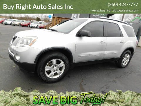 2009 GMC Acadia for sale at Buy Right Auto Sales Inc in Fort Wayne IN
