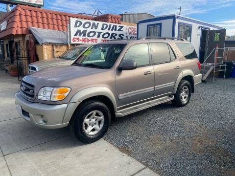 2002 Toyota Sequoia for sale at DON DIAZ MOTORS in San Diego CA