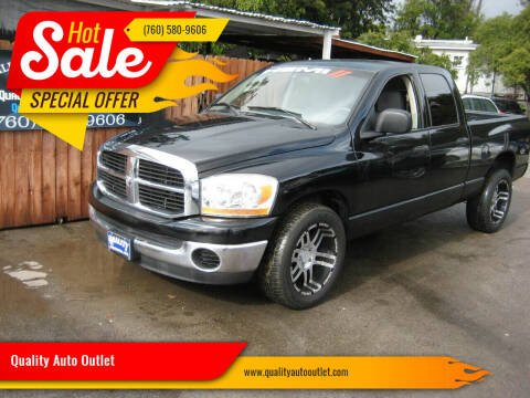 2006 Dodge Ram Pickup 1500 for sale at Quality Auto Outlet in Vista CA