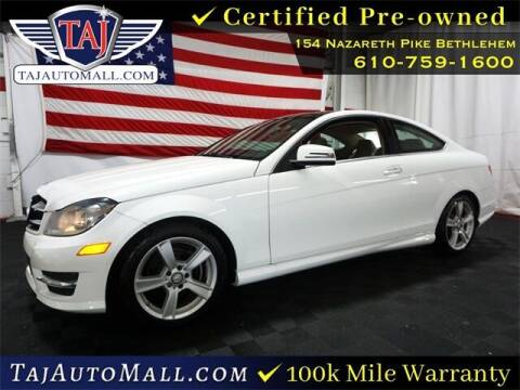 2014 Mercedes-Benz C-Class for sale at Taj Auto Mall in Bethlehem PA