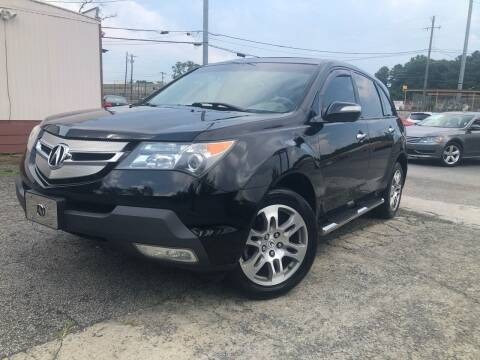 2008 Acura MDX for sale at Atlas Auto Sales in Smyrna GA