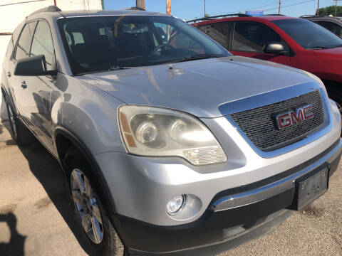 2012 GMC Acadia for sale at Auto Access in Irving TX