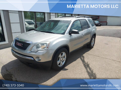 2008 GMC Acadia for sale at MARIETTA MOTORS LLC in Marietta OH
