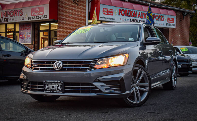 2017 Volkswagen Passat for sale at Foreign Auto Imports in Irvington NJ