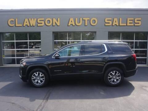 2021 GMC Acadia for sale at Clawson Auto Sales in Clawson MI