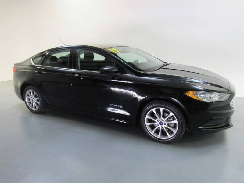 2017 Ford Fusion Hybrid for sale at Salinausedcars.com in Salina KS