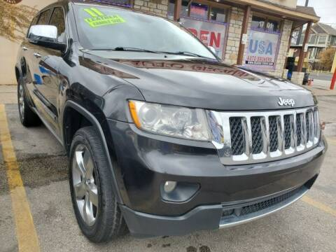 2011 Jeep Grand Cherokee for sale at USA Auto Brokers in Houston TX