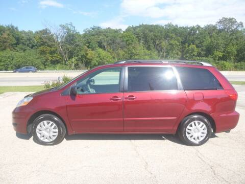 2008 Toyota Sienna for sale at NEW RIDE INC in Evanston IL