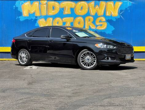 2015 Ford Fusion for sale at Midtown Motors in San Jose CA