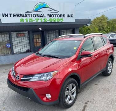 2015 Toyota RAV4 for sale at International Motors Inc. in Nashville TN