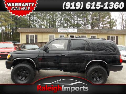 1997 Toyota 4Runner for sale at Raleigh Imports in Raleigh NC