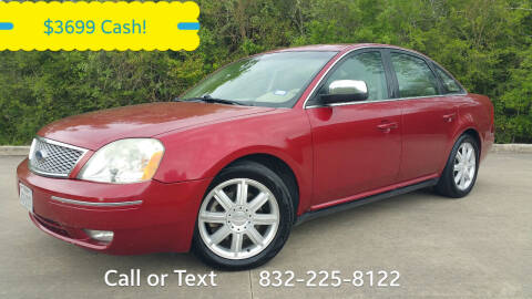 2007 Ford Five Hundred for sale at Houston Auto Preowned in Houston TX