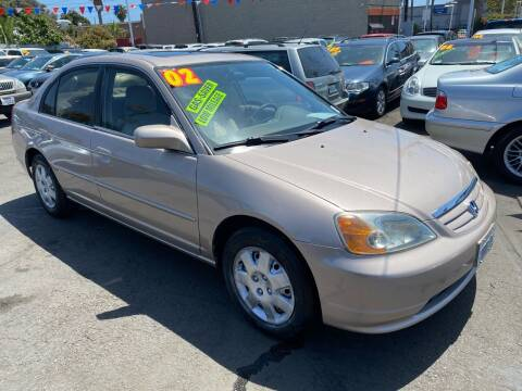 2002 Honda Civic for sale at North County Auto in Oceanside CA