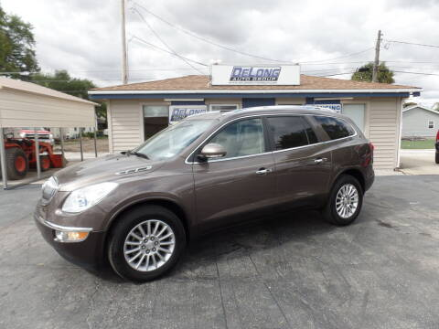 2012 Buick Enclave for sale at DeLong Auto Group in Tipton IN