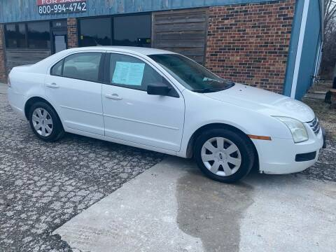 2008 Ford Fusion for sale at Kansas Car Finder in Valley Falls KS