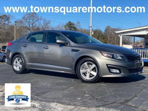 2015 Kia Optima for sale at Town Square Motors in Lawrenceville GA