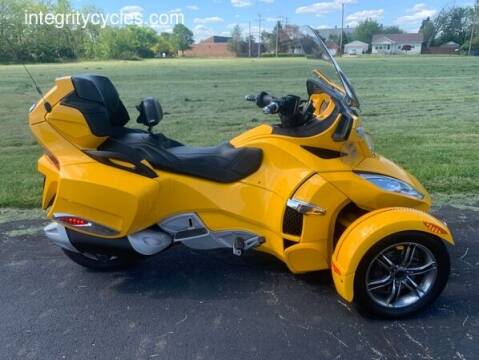 2010 Can-Am SPYDER RT AUDIO & CONVENIENCE for sale at INTEGRITY CYCLES LLC in Columbus OH