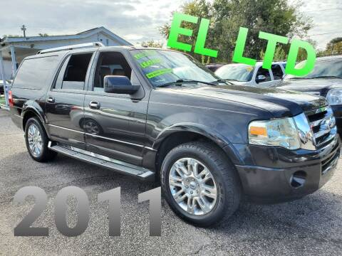 2011 Ford Expedition EL for sale at Rodgers Enterprises in North Charleston SC