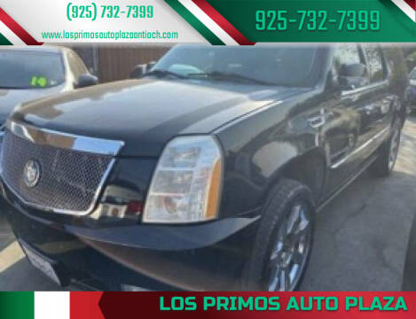2007 Cadillac Escalade ESV for sale at Los Primos Auto Plaza in Antioch CA