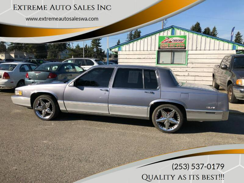 used 1990 cadillac deville for sale carsforsale com used 1990 cadillac deville for sale