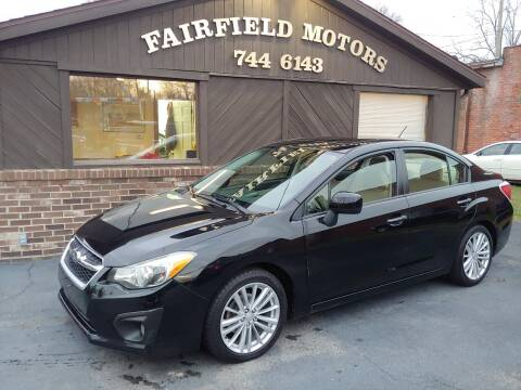 2012 Subaru Impreza for sale at Fairfield Motors in Fort Wayne IN