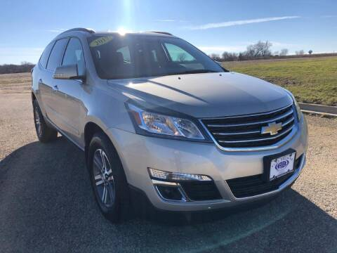 2017 Chevrolet Traverse for sale at Alan Browne Chevy in Genoa IL