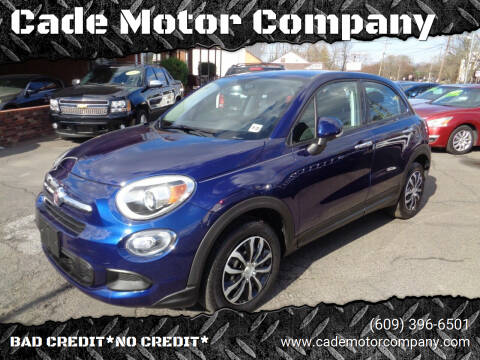 2017 FIAT 500X for sale at Cade Motor Company in Lawrenceville NJ