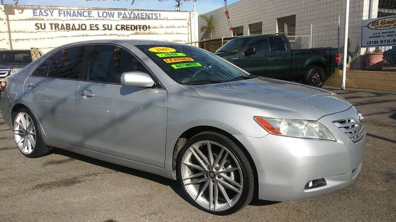 2007 Toyota Camry for sale at El Guero Auto Sale in Hawthorne CA