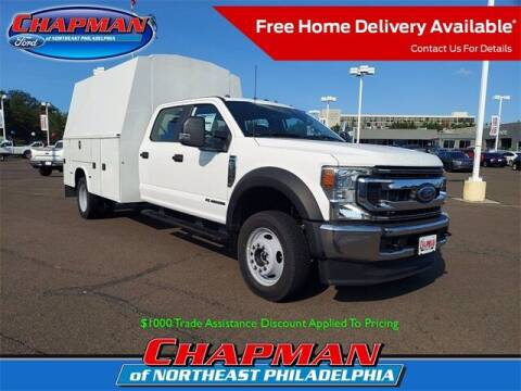 2022 Ford F-550 Super Duty for sale at CHAPMAN FORD NORTHEAST PHILADELPHIA in Philadelphia PA