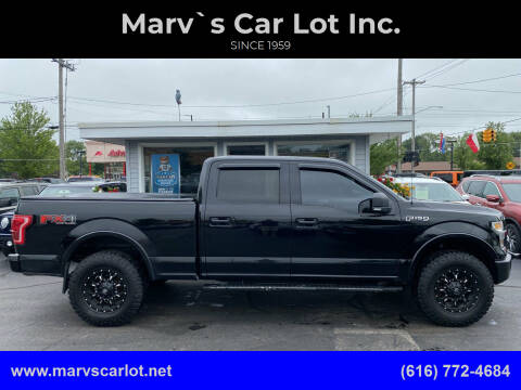 2016 Ford F-150 for sale at Marv`s Car Lot Inc. in Zeeland MI