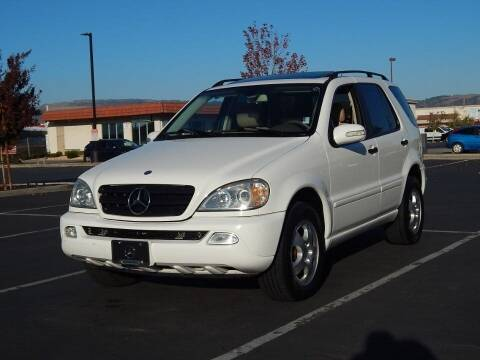 2002 Mercedes-Benz M-Class for sale at Gilroy Motorsports in Gilroy CA