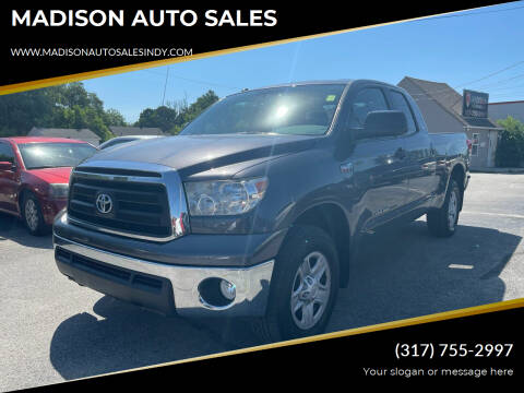 2011 Toyota Tundra for sale at MADISON AUTO SALES in Indianapolis IN