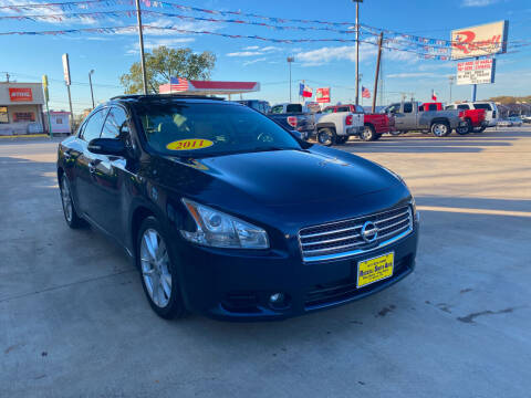 2011 Nissan Maxima for sale at Russell Smith Auto in Fort Worth TX
