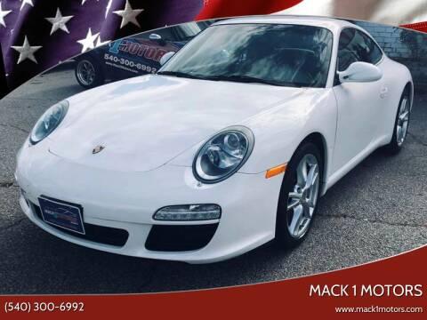 2009 Porsche 911 for sale at Mack 1 Motors in Fredericksburg VA
