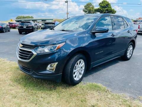 2018 Chevrolet Equinox for sale at BRYANT AUTO SALES in Bryant AR
