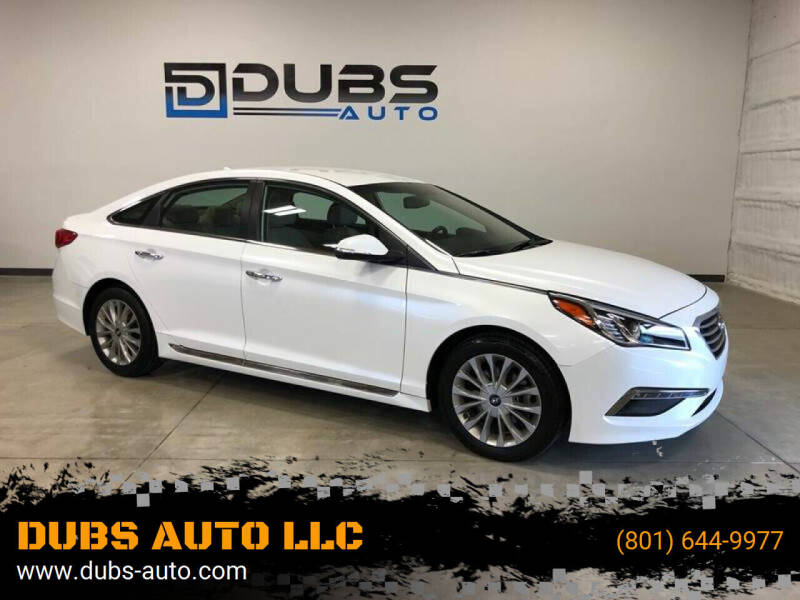 2015 Hyundai Sonata for sale at DUBS AUTO LLC in Clearfield UT