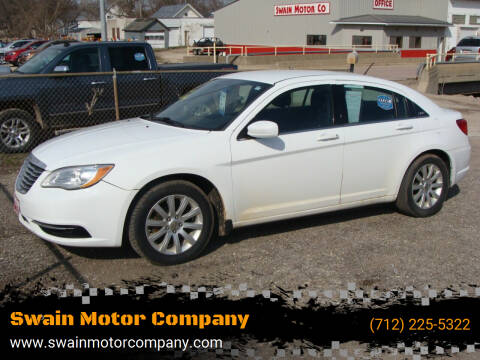 2014 Chrysler 200 for sale at Swain Motor Company in Cherokee IA